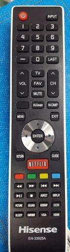 Control Hisense 100 % Original Modelo En-33925a Smart en Web Electro