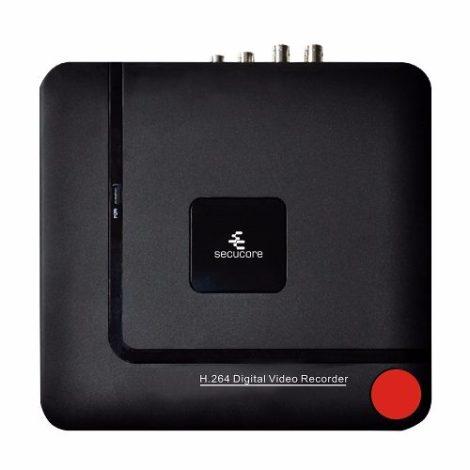 Dvr 4 Canales Video Ahd 720p Cctv Soporta Ip Analogas Audio en Web Electro