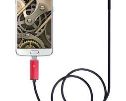 Endoscopio Para Android Camara Usb De 7mm 5 Mts - Te217
