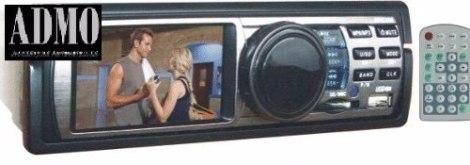 Estereo Auto Pantalla 3  Sd Usb Video Entrada Camara Etc