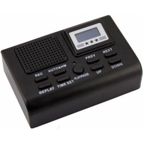 Grabadora De Llamadas Telefónicas Espía Incluye Memoria 16gb en Web Electro