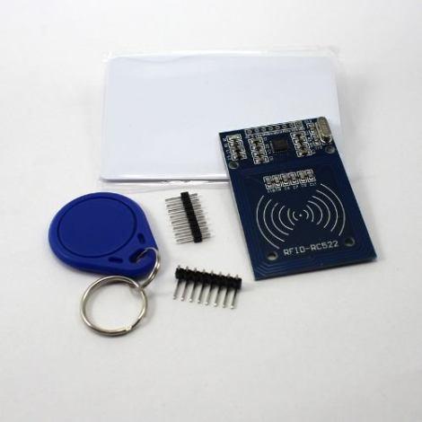 Kit Módulo Lector De Tarjetas Rfid Rc522 Para Arduino