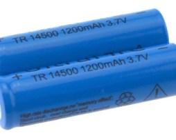 Mayoreo! 10 Baterías Recargables 14500 4800mah