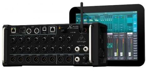 Mezcladora Mixer Digital De 18 Canales X Air Behringer Xr18 en Web Electro