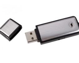 Microfono Espia Mini Grabadora Usb 4gb 12 Hrs De Grabación