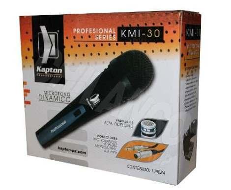 Microfono Profesional Alambrico Kapton Kmi-30 Alta Fidelidad