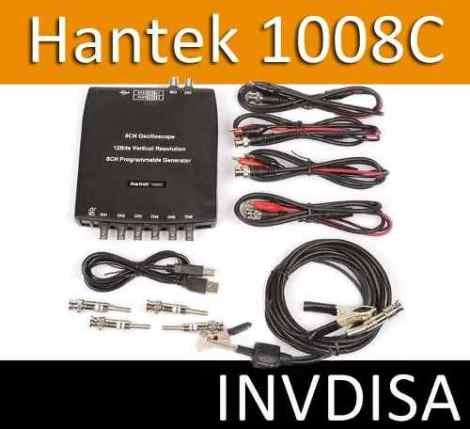 Osciloscopio Automotriz Hantek 1008c Usb 8 Canales Generador en Web Electro