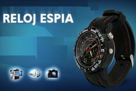 Reloj Espia Camara Oculta Sumergible Al Mejor Precio Y Promo en Web Electro