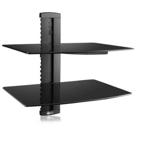 Repisas Flotantes Estante Vidrio Templado Ps4 Xbox Tv Bluray en Web Electro