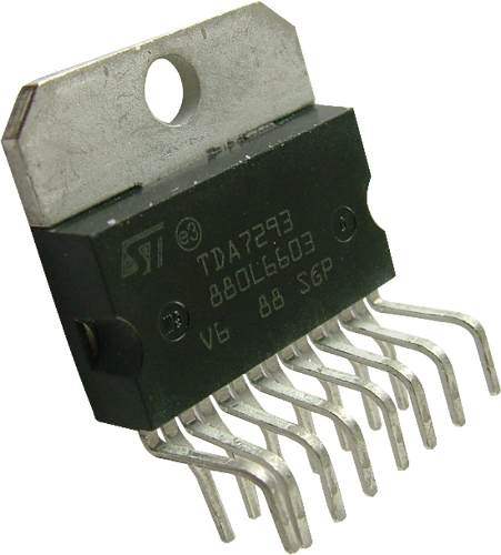 Set 2 Circuitos Integrados Tda7293v Envío Inmediato en Web Electro