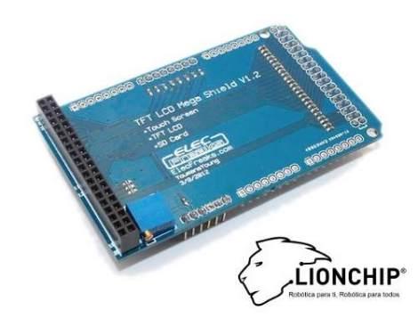 Shield Base Pantalla Display Tft Touchscreen Arduino Mega en Web Electro