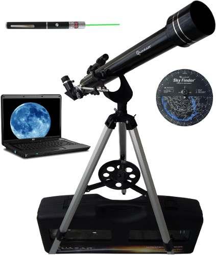 Telescopio Quasar Q60 Cámara Usb Para Tablet Laptop Y Láser