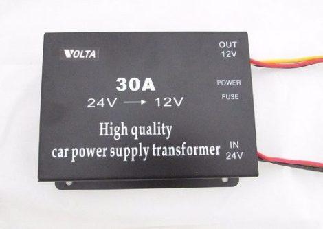 Transformador De Corriente Baja El Voltaje De 24v A 12v 30a en Web Electro