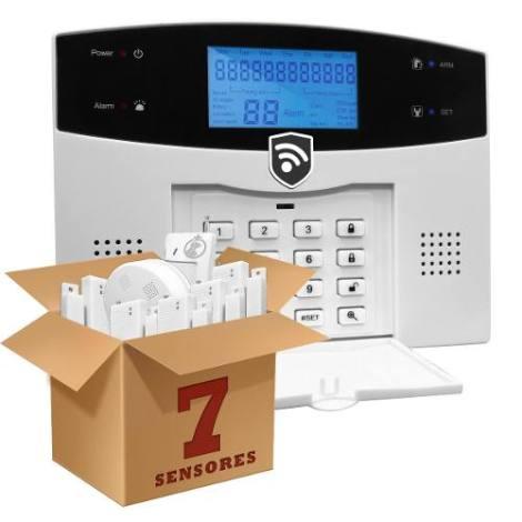 Alarma Dual Gsm Inalambrica Seguridad Casa Negocio Oficina en Web Electro