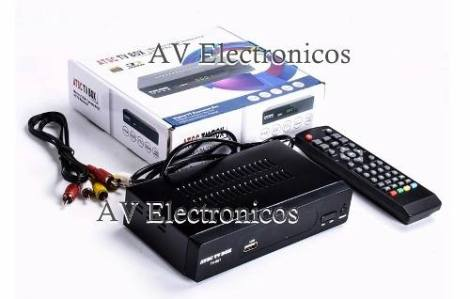 Convierte Tv Analoga Y  Proyector A Tv Digital Atsc  Usb en Web Electro