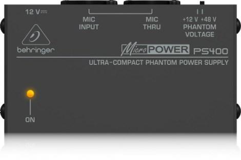 Fuente Alimentación Fantasma Ps400 Behringer – Phantom Power