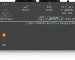 Fuente Alimentación Fantasma Ps400 Behringer - Phantom Power