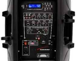 Bafle Audiobahn Recargable Regalo 2micros Inalambricos Xaris