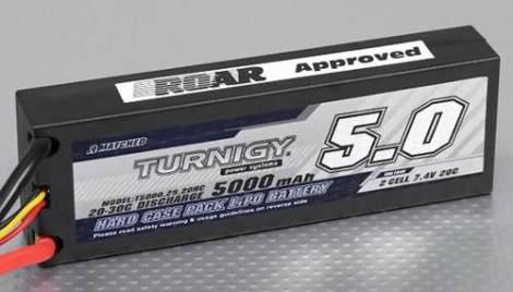 Bateria Pila Lipo 5000mah 7.4v 2s 20c Turnigy Casco Duro