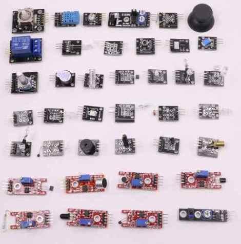 Envio Gratis Kit 37 Sensores Módulos Para Arduino Avr Pic