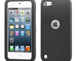 Funda Protector Mixto Apple Ipod Touch 5g Negro / Antiderrap