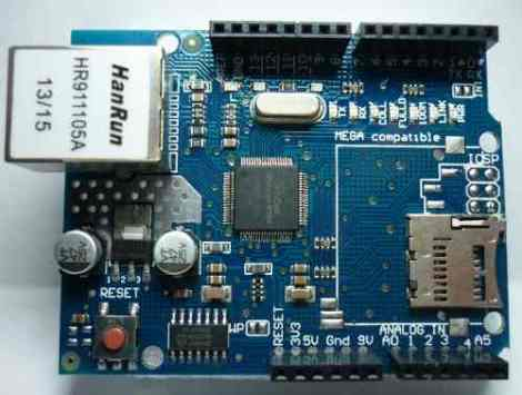 Modulo Ethernet Para Arduino W5100 Compatible Uno