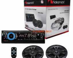 Nakamichi Na87 Bluetooth/usb/sdcard/auxiliar+2 Bocinas Regal