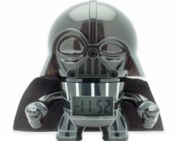 Star Wars Figura Darth Vader  Reloj Despertador Luz 12cm
