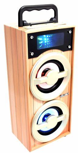 Velikka Bocina Usb Radio Fm Aux Bluetooth Vkk-2026 Mini Made