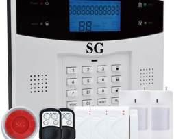 Alarma Gsm O Dual Seguridad Casa Negocio Oficina Vía Celular