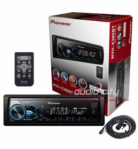 Autoestereo Pioneer Mvh-x385bt Bluettoth Iphone Android