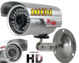 Camara Cctv Bullet Ahd Video Alta Resolucion Hd 720p 1800tvl