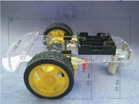 Chasis Robot Seguidor De Linea Sumo Robotica Arduino Pic Avr