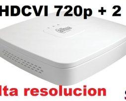 Dvr Dahua 8 Canales Hdcvi + 2 Ip Monitoreo X Internet Cel