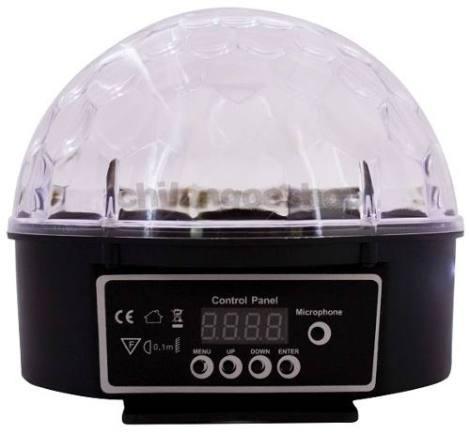 Esfera De Leds Multifuncion Crystal Ball Display Digital Dmx