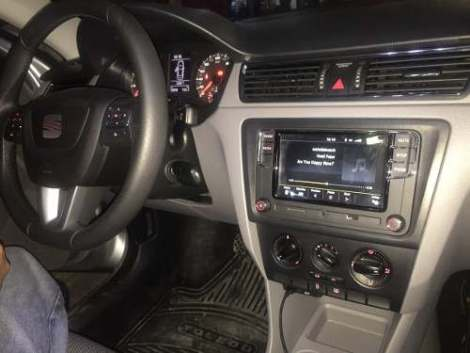 Estereo Seat Toledo León 2013 2015 Usb Bluetooth Aux Sdcar