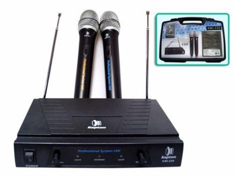 Microfonos Inalambricos Vhf Kapton Kmi 220