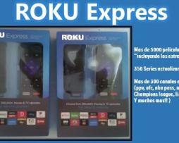 Roku Express Hd Nuevo Sellado Un Mes Gratis De Programacion