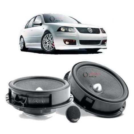 Set De Medios Focal Volkswagen Arnes Original Vw Seat Plug P