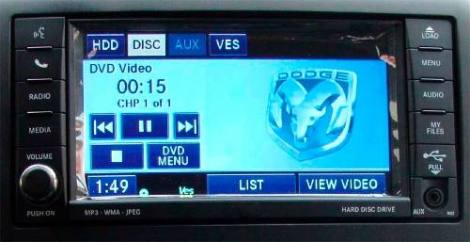 Sistema Multimedia Mygig Rbz Para Chrysler Dodge Jeep Y Ram