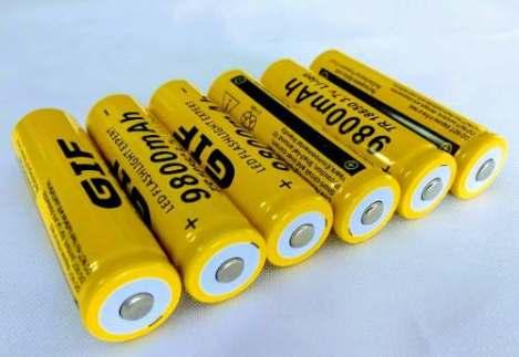 6 Baterias 18650 Pila Gif 9800 Mah Litio-ion 3.7v Recargable