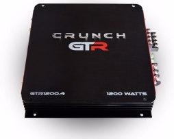 Amplificador Crunch Gtr1200.4 1200w 4 Ch P Bocinas Medios