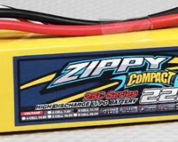Bateria Lipo 2200mah 11.1v 3s 25c Zippy Compact Dji Walkera