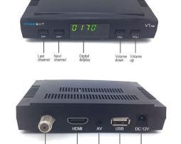Freesat V7 Con 5 Meses De Rojo Y Azul Envio Gratis Y Wifi