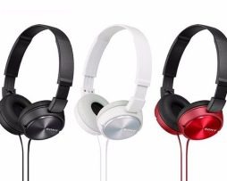 Mdr-zx310/bquc Audífonos Sony Negros