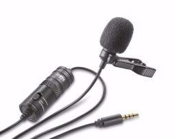 Microfono Lavalier Clip De Solapa Entrevista Boya M1 3.5mm