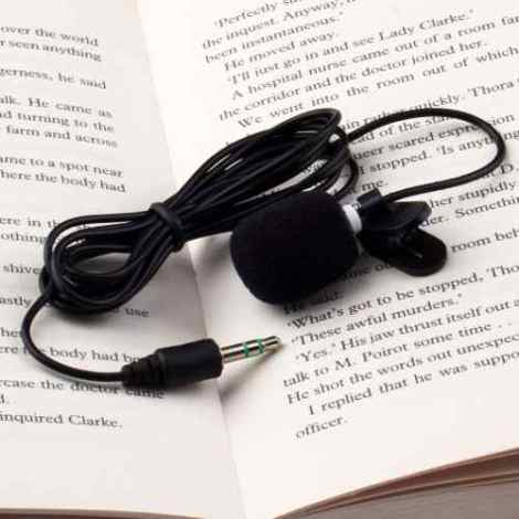 Microfono Lavalier Solapa Stereo 3.5mm Hd Dslr Foto Video