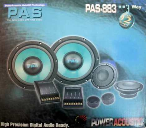 Set De Medios Para Automóvil Pas Audiolabs