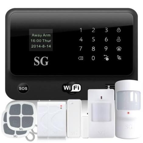 Alarma Touch Wifi – Gsm App Internet Seguridad Casa Negocio