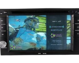 Auto Estereo Pantalla Doble 2 Din | Dvd | Bluetooth | Cd